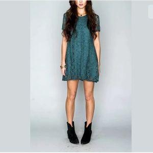 Show Me Your Mumu Nicks Babydoll Lace Dress Tunic